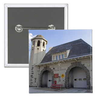 Number 19 Engine House in Washington, D.C. 15 Cm Square Badge