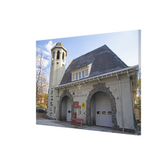 Number 19 Engine House in Washington, D.C. Gallery Wrap Canvas