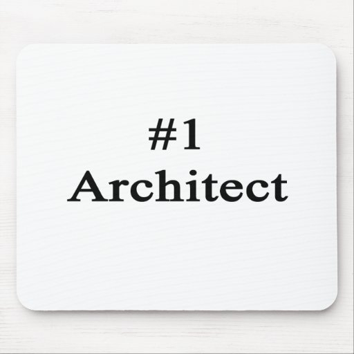 Number 1 Architect Mousepad