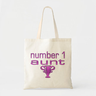 Number 1 Aunt Tote Bag