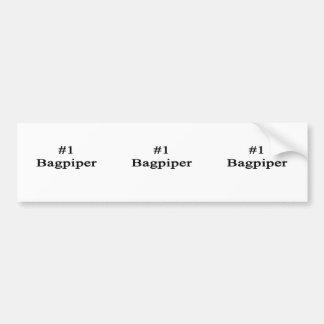 Number 1 Bagpiper Bumper Stickers