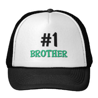 Number 1 Brother Trucker Hat