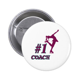 Number #1 Coach Buttons