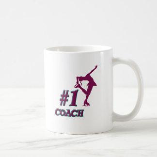 Number #1 Coach Basic White Mug