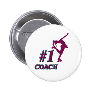 Number 1 Coach Pins