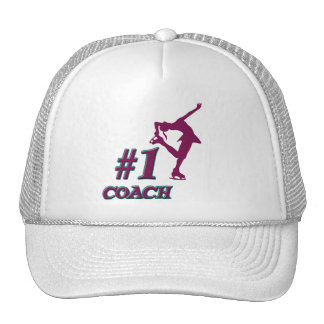 Number #1 Coach Mesh Hats