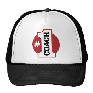 Number 1 Coach Trucker Hats