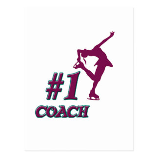 Number #1 Coach Postcard