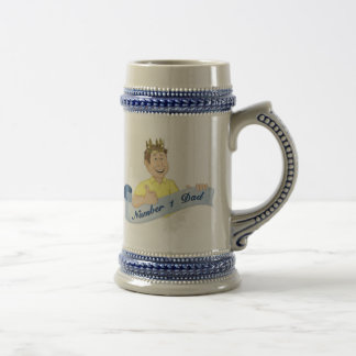 Number 1 Dad Beer Stein