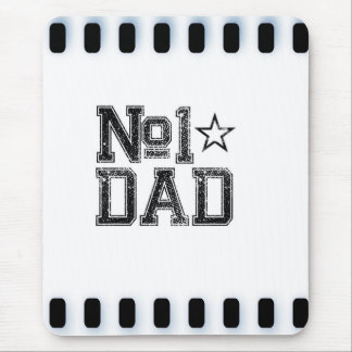Number 1 Dad Mouse Pad