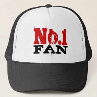 Number 1 Fan trucker hat for men.