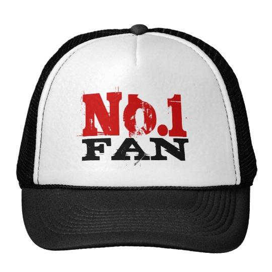 Number 1 Fan trucker hat for men.