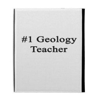 Number 1 Geology Teacher iPad Case