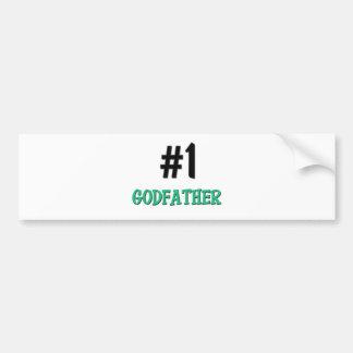 Number 1 Godfather Car Bumper Sticker