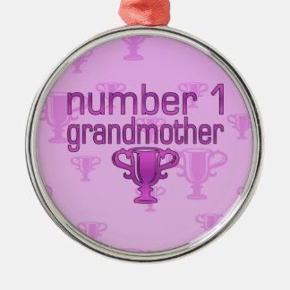 Number 1 Grandmother Christmas Ornament