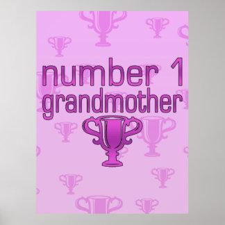 Number 1 Grandmother Print