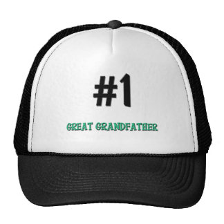 Number 1 Great Grandfather Cap