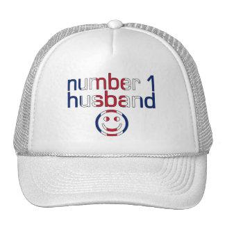 Number 1 Husband Husband s Birthday Mesh Hat