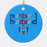 Number 1 Husband ( Husband's Birthday ) Ornament