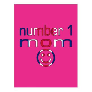 Number 1 Mom ( Mom's Birthday & Mother's Day ) Postcards