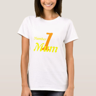 Number 1 Mum Shirt