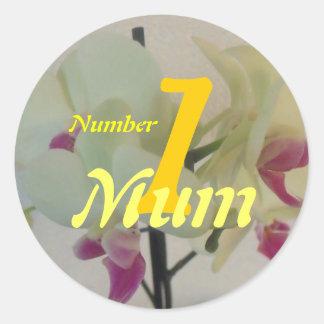 Number 1 Mum Sticker