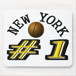 Number 1 New York Basketball Mouse Pad
