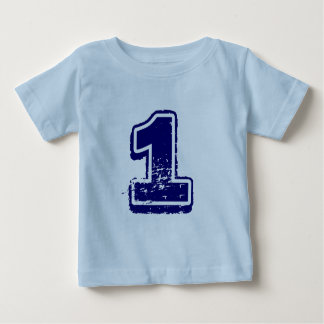 Number 1 shirt for boys