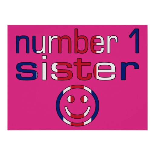 Number 1 Sister ( Sister's Birthday ) Poster