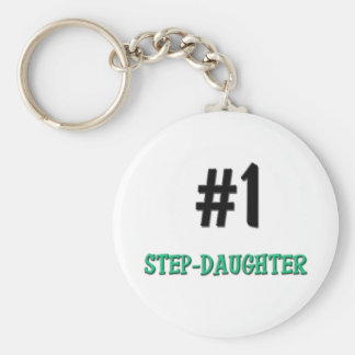 Number 1 Step-Daughter Key Chains