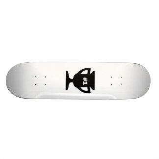 Number 1 Trophy Skate Decks