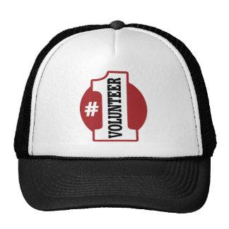 Number 1 Volunteer Trucker Hats