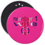 Number 1 Wife ( Wife's Birthday ) Badge