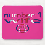 Number 1 Wife ( Wife's Birthday ) Mousepad
