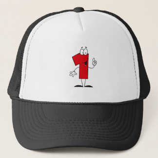 Number 1st Birthday T shirts and Gifts Trucker Hat