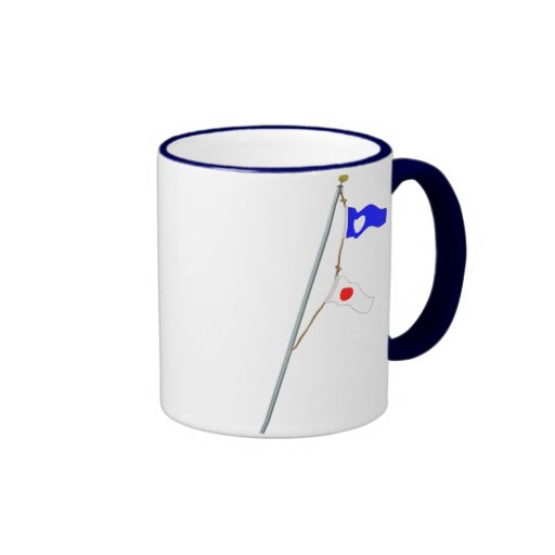 Number 21 Nautical Signal Flag Hoist Coffee Mug