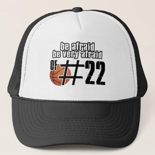 Number 22 Basketball designs Cap