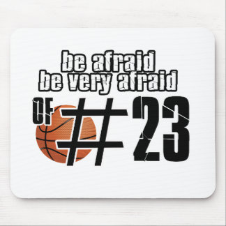 Number 23 Basketball designs Mouse Pad