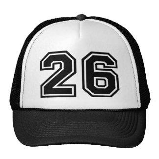Number 26 Classic Cap