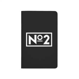 Number 2 Notepad Journal