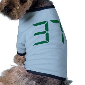 Number – 37 dog tee shirt