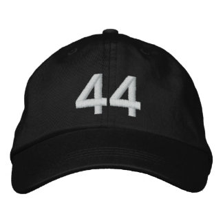 Number 44 embroidered baseball cap