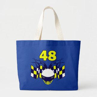 NUMBER 48 AUTO RACING DESIGN BAG