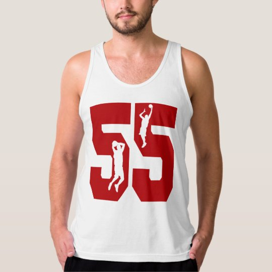 Number 55 Basketball Shirt