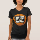 Number 55 Basketball T-Shirt