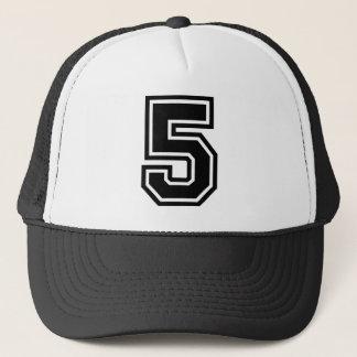 Number 5 Classic Trucker Hat