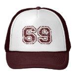 Number 69 cap