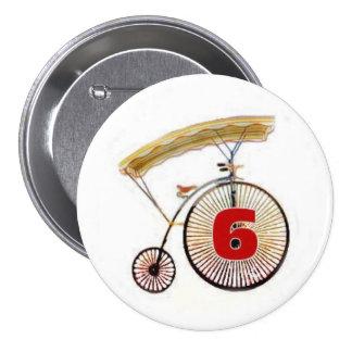 Number 6 Badge