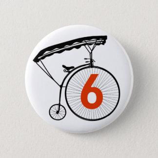 Number 6 Badge - The Prisoner