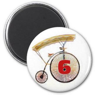 Number 6 magnet magnets